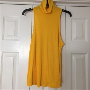 Free People Yellow Top Medium
